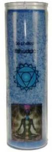 Chakra Aromatic Jar Candle - 5th Chakra (Throat) - Vishudda - Blue -
